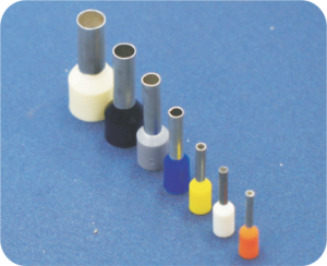 INSULATED PIG TAIL TERMINALS FOR MULTI-WIRE CONDUCTORS - DIN 46228