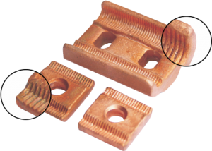 Copper UNIMAX universal tap-off clamp