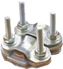 ALUMINUM-COPPER COMBINED TAP-OFF CLAMP