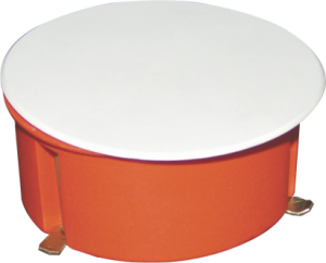 IN-WALL JUNCTION BOX FOR PLASTER – ROUND