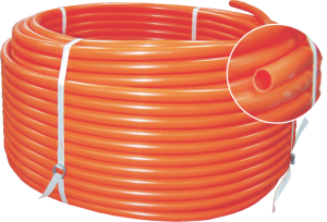 POLYETHYLENE TUBING FOR ELECTRICAL INSTALLATION IN CONCRETE