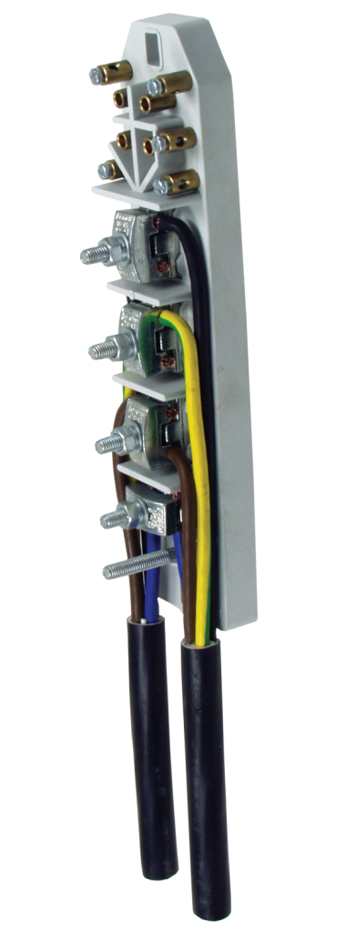 CONNECTION PLATE FOR PUBLIC LIGHTING POLES PPROV III