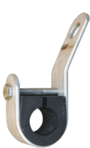 CLAMP FOR CARRYING SUPPORT OF LV ABC WITHOUT THE MAIN CONDUCTOR