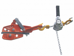 DEVICE FOR TIGHTENING AND HOISTING LOADS - to 250 kg