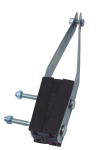 TENSION SUPPORT CLAMP FOR LV ABC WITHOUT SUPPORTING CONDUCTOR РА 450/95