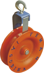 PULLEY TACKLE FOR INSTALLING MV ABC ON POSTS FR 350