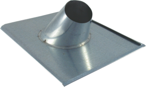 TIN ROOF TILE FOR ROOF PIPE SUPPORT