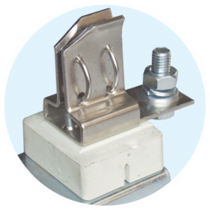 SINGLE-POLE KNIFE-BLADE FUSE BASE